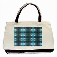Blue Diamonds Of The Sea 1 Basic Tote Bag (two Sides) by yoursparklingshop