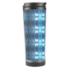 Blue Diamonds Of The Sea 1 Travel Tumbler by yoursparklingshop