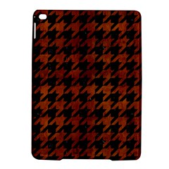 Houndstooth1 Black Marble & Brown Burl Wood Apple Ipad Air 2 Hardshell Case by trendistuff