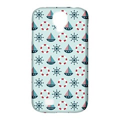 Nautical Elements Pattern Samsung Galaxy S4 Classic Hardshell Case (pc+silicone)