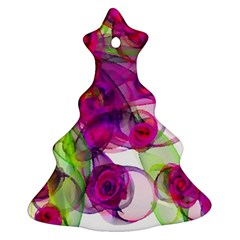 Violet Christmas Tree Ornament (2 Sides)