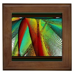 Stained Glass Window Framed Tiles