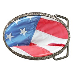 Folded American Flag Belt Buckles by StuffOrSomething