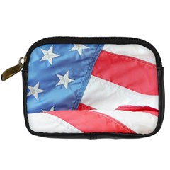 Folded American Flag Digital Camera Cases by StuffOrSomething