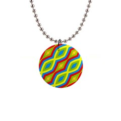 Colorful Chains                    			1  Button Necklace by LalyLauraFLM