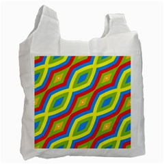 Colorful Chains                    			recycle Bag (one Side) by LalyLauraFLM