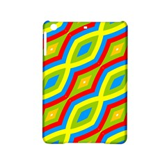 Colorful Chains                    			apple Ipad Mini 2 Hardshell Case by LalyLauraFLM