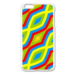Colorful Chains                    			apple Iphone 6 Plus/6s Plus Enamel White Case by LalyLauraFLM
