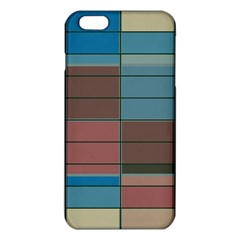 Rectangles In Retro Colors Pattern                      			iphone 6 Plus/6s Plus Tpu Case by LalyLauraFLM