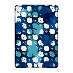 Blue Texture                       			apple Ipad Mini Hardshell Case (compatible With Smart Cover) by LalyLauraFLM
