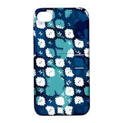 Blue Texture                       			apple Iphone 4/4s Hardshell Case With Stand by LalyLauraFLM