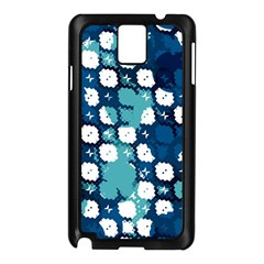 Blue Texture                       			samsung Galaxy Note 3 N9005 Case (black) by LalyLauraFLM