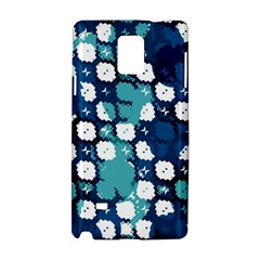 Blue Texture                       			samsung Galaxy Note 4 Hardshell Case