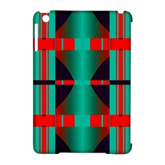 Vertical Stripes And Other Shapes                        			apple Ipad Mini Hardshell Case (compatible With Smart Cover) by LalyLauraFLM