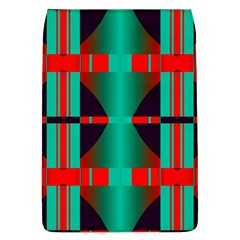 Vertical Stripes And Other Shapes                        			removable Flap Cover (l) by LalyLauraFLM