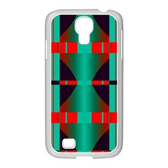 Vertical Stripes And Other Shapes                        			samsung Galaxy S4 I9500/ I9505 Case (white) by LalyLauraFLM