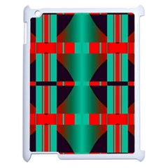 Vertical Stripes And Other Shapes                        			apple Ipad 2 Case (white) by LalyLauraFLM