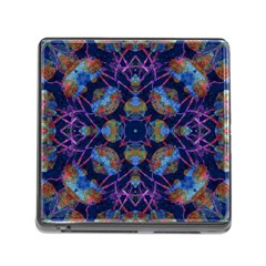 Ornate Mosaic Memory Card Reader (square) by dflcprints