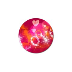 Love Golf Ball Marker by SugaPlumsEmporium