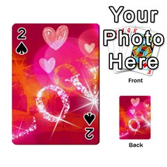 Love Playing Cards 54 Designs  by SugaPlumsEmporium