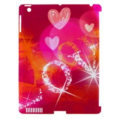 Love Apple Ipad 3/4 Hardshell Case (compatible With Smart Cover) by SugaPlumsEmporium
