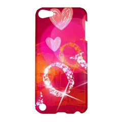 Love Apple Ipod Touch 5 Hardshell Case by SugaPlumsEmporium