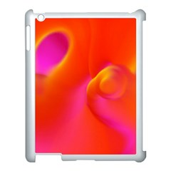 Orange Cream Apple Ipad 3/4 Case (white)