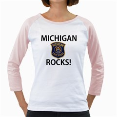 Michigan Rocks! Girly Raglans by SugaPlumsEmporium