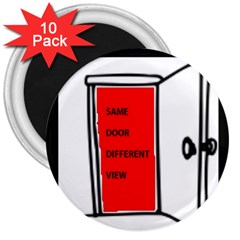 The Open Door Policy 3  Magnets (10 Pack)