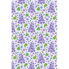 Liliac Flowers And Leaves Pattern 5 5  X 8 5  Notebooks by TastefulDesigns