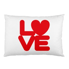 Love (01) Pillow Case by gooddeed