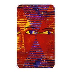 Conundrum Iii, Abstract Purple & Orange Goddess Memory Card Reader by DianeClancy