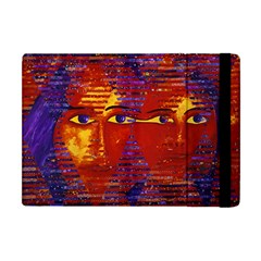 Conundrum Iii, Abstract Purple & Orange Goddess Apple Ipad Mini Flip Case by DianeClancy