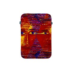 Conundrum Iii, Abstract Purple & Orange Goddess Apple Ipad Mini Protective Soft Cases by DianeClancy