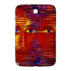 Conundrum Iii, Abstract Purple & Orange Goddess Samsung Galaxy Note 8 0 N5100 Hardshell Case  by DianeClancy