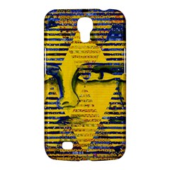 Conundrum Ii, Abstract Golden & Sapphire Goddess Samsung Galaxy Mega 6 3  I9200 Hardshell Case by DianeClancy