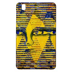 Conundrum Ii, Abstract Golden & Sapphire Goddess Samsung Galaxy Tab Pro 8 4 Hardshell Case by DianeClancy