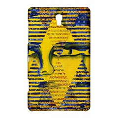 Conundrum Ii, Abstract Golden & Sapphire Goddess Samsung Galaxy Tab S (8 4 ) Hardshell Case  by DianeClancy