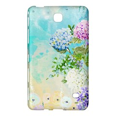 Watercolor Fresh Flowery Background Samsung Galaxy Tab 4 (7 ) Hardshell Case  by TastefulDesigns
