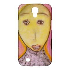 Portrait Of Archangel Michael, Spiritual Chalks Drawing Samsung Galaxy Mega 6 3  I9200 Hardshell Case by yoursparklingshop