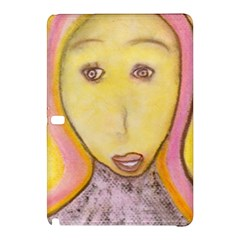 Portrait Of Archangel Michael, Spiritual Chalks Drawing Samsung Galaxy Tab Pro 10 1 Hardshell Case by yoursparklingshop