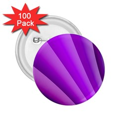 Gentle Folds Of Purple 2 25  Buttons (100 Pack)  by FunWithFibro