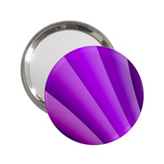 Gentle Folds Of Purple 2 25  Handbag Mirrors by FunWithFibro