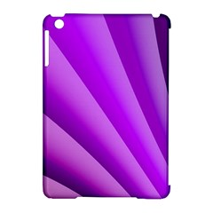 Gentle Folds Of Purple Apple Ipad Mini Hardshell Case (compatible With Smart Cover) by FunWithFibro