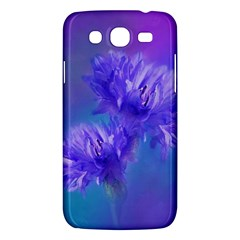 Flowers Cornflower Floral Chic Stylish Purple  Samsung Galaxy Mega 5 8 I9152 Hardshell Case  by yoursparklingshop