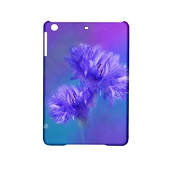 Flowers Cornflower Floral Chic Stylish Purple  Ipad Mini 2 Hardshell Cases by yoursparklingshop