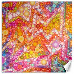 Sunshine Bubbles Canvas 20  X 20   by KirstenStar