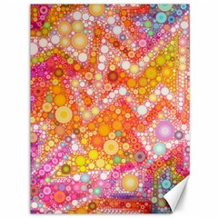 Sunshine Bubbles Canvas 36  X 48   by KirstenStar