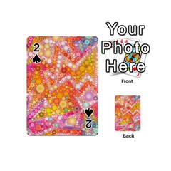 Sunshine Bubbles Playing Cards 54 (mini)  by KirstenStar