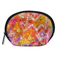 Sunshine Bubbles Accessory Pouches (medium)  by KirstenStar